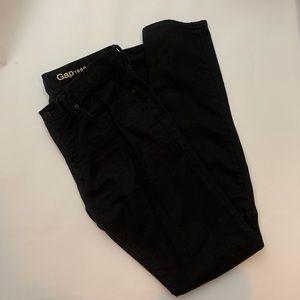 Gap 1969 Dark Charcoal Skinny Jeans
